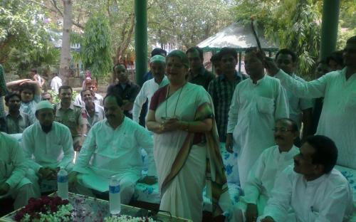 Smt. Mamta Sharma, Hon'ble Chairperson, NCW was invited by the Chandera Shekhar Azad Charitable Trust