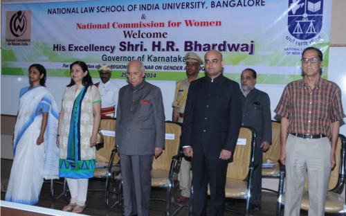 NCW organized Seminar on 'Gender and Violence' in association with National Law School of India University (NLSIU)