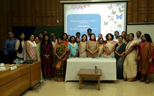 """Dr. Charu WaliKhanna, Member, was Chief Guest at the two-day Workshop on """"Sexual Harassment of Women at Workplace"""""""
