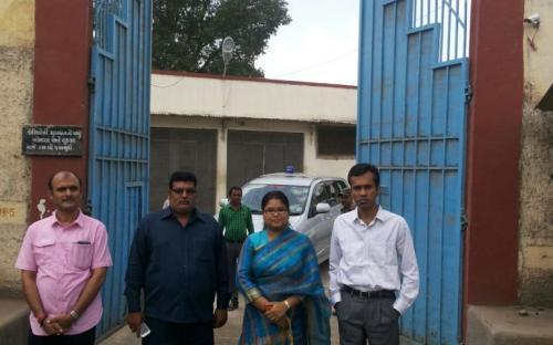 Ms. Hemlata Kheria visited Silvassa Jail, Dadra Nagar Haveli