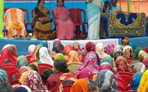 "Ms. Hemlata Kheria, Member, NCW attended a National Seminar on ""Illicit Liquor Trade and Gender Violence"""