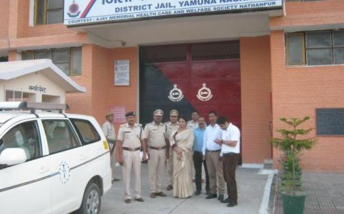 Ms. Shamina Shafiq, Member, NCW visited District Jail, Yamuna Nagar