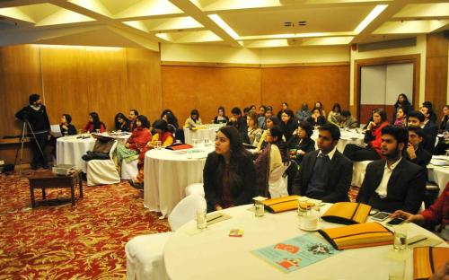 Participants during National Consultation on Voices for Beijing+20 inaugurated by Hon'ble Chairperson, NCW