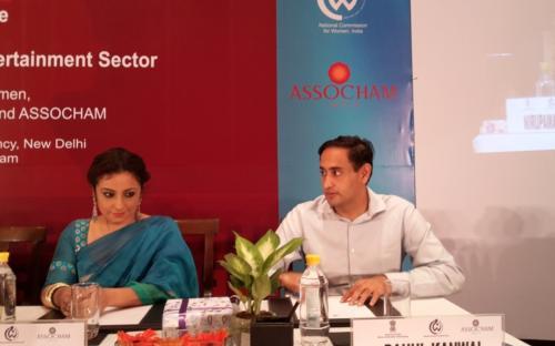 (Frm L to R) Ms. Lalitha Kumaramanglam, Chairperson, NCW, Shri Prakash Javadekar Minister Information & Broadcasting