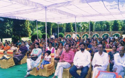 View of the participants