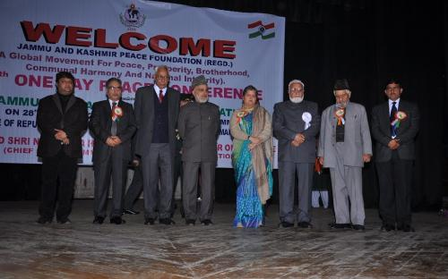 Hon'ble Chairperson, NCW attended 39th One Day Peace Conference organized by Jammu & Kashmir Peace Foundation