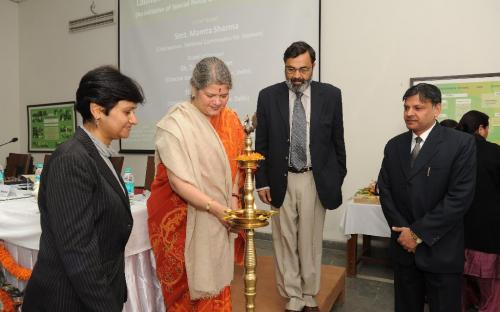Hon'ble Chairperson had been honored as the chief guest at the launch of the website www.spuwac.com for the Special Police Unit for Women and Child, Nanakpura, New Delhi.