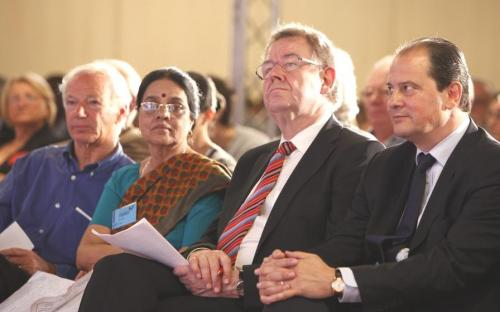 A political visit of Dr. Girija Vyas to Paris