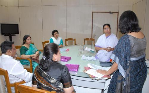 A three member committee visited the state of West Bengal during 2-3 April, 2012