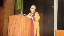 Hon'ble Chairperson, NCW addressing opening remarks