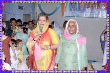 Ms. Mamta Sharma, Hon'ble Chairperson, NCW attended the Roja-Aftar party at Bundi, Rajasthan