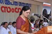 Chairperson NCW visit Uzhavoor a small village in Kottayam district, Kerala