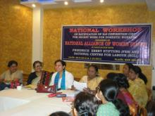 Dr. Charu WaliKhanna Member, NCW Chief Guest at National Workshop on Ratification of ILO Convention C189 for Decent Work for Domestic Workers organised by National Alliance of Women (NAWO) at New Delhi