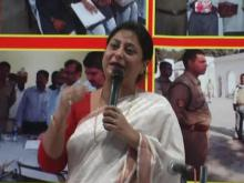 "Member Shamina Shafiq attended a programme ""U.P. Police Sensitive towards women"" organised by District Police Sitapur"