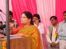 Ms. Hemlata Kheria, Member, NCW was the chief guest in the Legal Awareness Program organized by Mercy Memorial Society in Ghaziabad