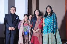 Dr. Charu WaliKhanna Member NCW was Chief Guest at Shaam-e-Sufi organised by an NGO Heal India at Sri Sathya Sai International Centre, Lodhi Road, New Delhi