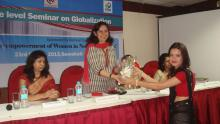Dr. Charu WaliKhanna, Member, NCW was Chief Guest at seminar on 'Globalization viz-a-viz Economic Empowerment of Women in North East India' held at Guwahati, Assam