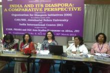 "Dr Charu WaliKhanna Member NCW Chaired Session on ""Diaspora and Gender"""