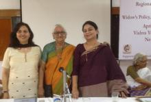 "Dr. Charu WaliKhanna and Ms Shamina Shafiq, Members, NCW attended the Regional Conference on ""Widow's Policy, Gaps and Inclusion"""