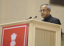 """NCW organized a ceremony to mark the laying of foundation stone of """"Nirbahaya Bhawan"""" permanent headquarters of the Commission by Shree Pranab Mukharjee, Honrable President of India"""