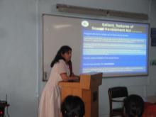 """Dr. Charu WaliKhanna, Member, NCW was Chief Guest at the Workshop on """"Prevention of Sexual Harassment"""" organised by Central Bank of India, Mumbai"""