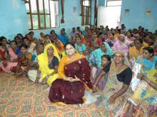 Ms. Hemlata Kheria, Member, NCW visited in Bagidauda Panchayat and Ghatol Panchayat, Banswara, Rajasthan