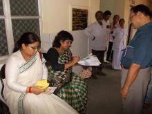 Ms Hemlata Kheria, Member, NCW accompanied with Ms. Manasi Pradhan OYSS Women Founder visited Binjhala Village, Puri, Bhubaneshwar