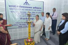 "Smt. Mamta Sharma, Hon'ble Chairperson, NCW inaugurated two day workshop on ""How to make the Workplace - Positive, Healthy, Ethical and Safe"""