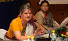 National Commission for Women organized a National Consultation on Women's Reservation Bill, The Constitution (One Hundred and Eight Amendment Bill)