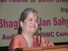 "Smt. Mamta Sharma, Hon'ble Chairperson, NCW was the cheif guest at National Seminar on ""Protection from Domestic Violence of Women"""