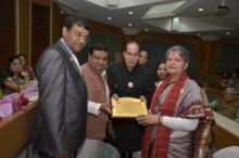 Smt. Mamta Sharma, Hon'ble Chairperson, NCW was Guest at Honoring of Talented Women on World's Women Day and 23rd Kavyatri Sammelan organized by Rajasthani Academy at India Habitat Center, Lodhi Road New Delhi
