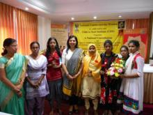 Dr. Charu WaliKhanna, Member was Chief Guest in the National Consultation to review Rajiv Gandhi Scheme for Empowerment of Adolescent Girls – SABLA