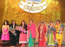 "Smt. Mamta Sharma, Hon'ble Chairperson, NCW and Ms. Hemlata Kheria, Member, NCW were invited in a stage play ""Sitayana"""