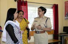 Dr. Charu WaliKhanna, Member, NCW inspected Mahila Thana, Indore and functioning of women Helpline