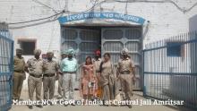 Smt. Shamina Shafiq, Member, NCW, visted Vocational Training Center, Central Jail, Amritsar