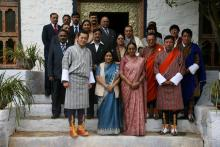 Bhutan Visit of Chairperson, NCW with Lok Sabha Speaker Meira Kumar and Smt Sushma Swaraj