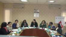 """Ms. Hemlata Kheria, Member, NCW chaired an Expert Committee on Dalit women titled """"Discrimination faced by Dalit women"""" at the conference hall of the Commission"""
