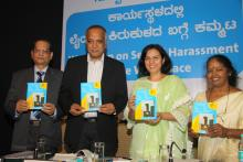 Release of Bi-lingual Booklet in Kannada and English in order to reach women in their own vernacular language