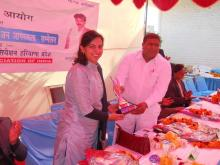 Member NCW, attends Seminar on Human Rights and Awareness of Women's Rights on 12.2.2012 at Palwal Haryana
