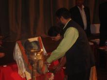 A political visit of Dr. Girija Vyas to Nepal