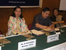 Dr. Charu WaliKhanna, Member NCW Participates in Inter-Commission Dialogue on 22nd February, 2012