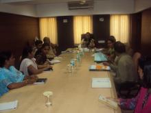 Ms. Nirmala Samant Prabhavalkar visited Maharashtra State Women Commission
