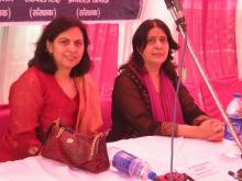 Dr. Charu WaliKhanna, Member, NCW was Chief Guest at Legal Awareness Programme organised by Mercy Welfare Society, Pratap Vihar, Ghaziabad, (UP) in collaboration with NCW